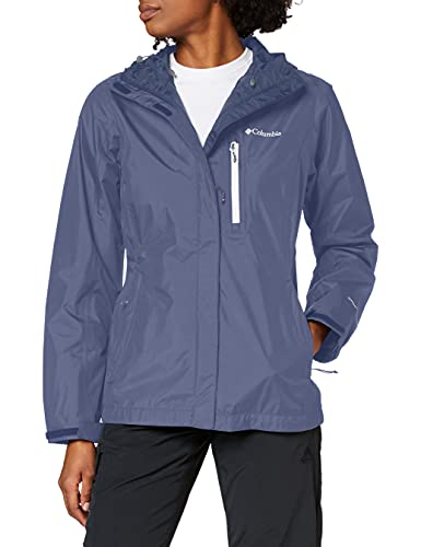 Columbia Pouring Adventure II Jacket, Mujer, Nocturnal, White Zip, M