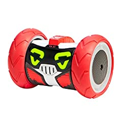 "Turbo Bot is built for speed! With a full function remote control including a turbo Boost switch! Use turbo's ""voice command"" Function to make him ""spin"", ""dance"", ""explore"" Or even get him To tell you a joke! Record a message and playback to Trick, ..."