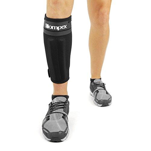 Compex Bionic Tobillera pie Izquierdo, Unisex, Negro, L