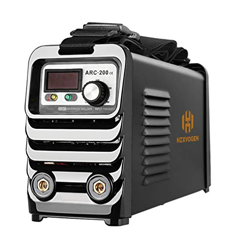 HZXVOGEN 110/220V Stick Welder Arc MMA Welding Machine Dual Volt 60% Duty Cycle Portable IGBT Inverter Welder (Model: ARC200)
