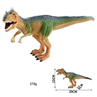 Jzd002-1 Big Jurassic Dinosaur Simulation Toy Brachiosaurus Soft Pvc Figures Hand Painted Animal Model Collection Toys For Children Gift