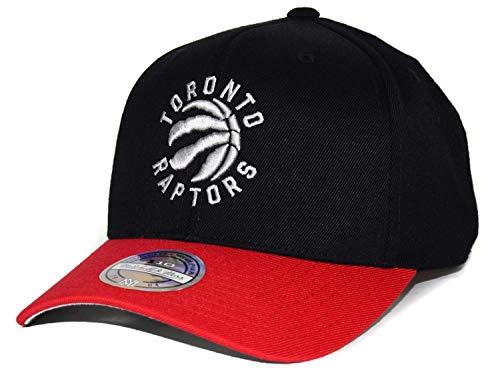 Mitchell & Ness Gorra de la NBA Toronto Raptors 110, 2 tonos, convence por su aspecto moderno.