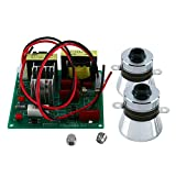 YaeCCC 110V Ultrasonic Cleaner Power Driver Board with 2PCS 50W 40K Transducers...