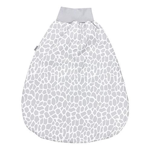 TupTam Baby Unisex Strampelsack mit breitem Bund Wattiert, Farbe: Giraffe, Größe: 0-6 Monate