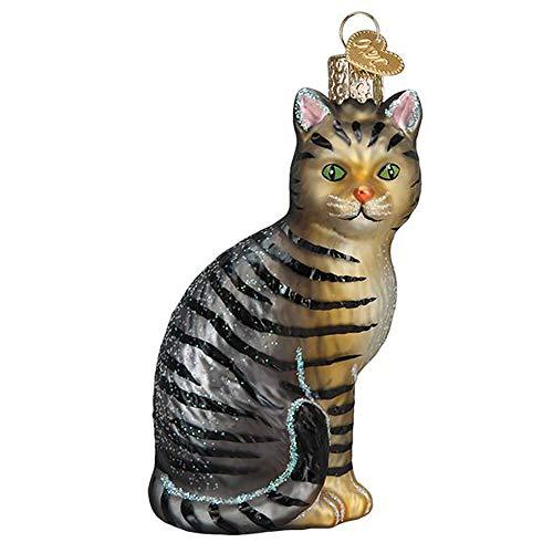 Old World Christmas Tabby Cat Ornament