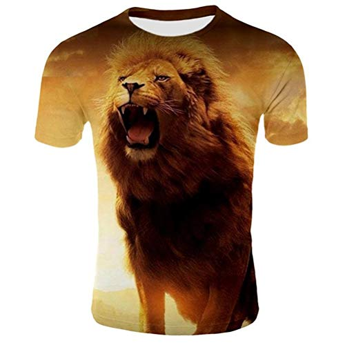 FZWAI Unisex 3D geprint Summer Casual met korte mouwen T-shirts Tees Sports T-Shirt Men