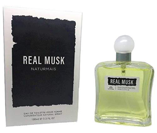 Real Musk Eau De Parfum Intense 100 ml. Compatibile con Narciso For Her Pure Musc, Profumi Equivalenti Donna
