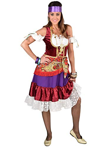 MAGIC BY FREDDYS Vestido Vagabundinum para mujer, multicolor, talla: XXL (2XL)