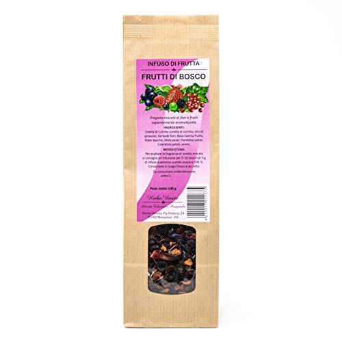 Herbo Veneta Infuso di Frutta con Aroma di Frutti di Bosco - 100 g