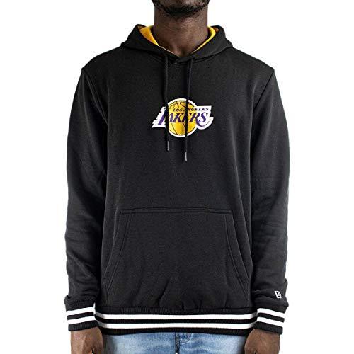 New Era Sudadera NBA Varsity Los Angeles Lakers Black Hombre M