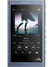 ソニー ウォークマン Aシリーズ 16GB NW-A55 : Bluetooth microSD対応 ハイレゾ対応 最大45時間連続再生 2018年モデル ムーンリットブルー NW-A55 L