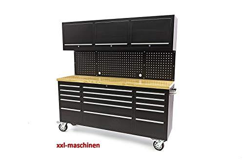 Nr. 8493- Werkstattwagen Werkzeugwagen 15 Schubladen Werkzeugschrank Pulverbeschichtet