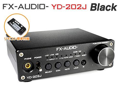 『FX-AUDIO- YD-202J『ブラック』YDA138デジタルアンプIC搭載デュアルモノラル駆動式デジタルプリメインアンプ』の2枚目の画像