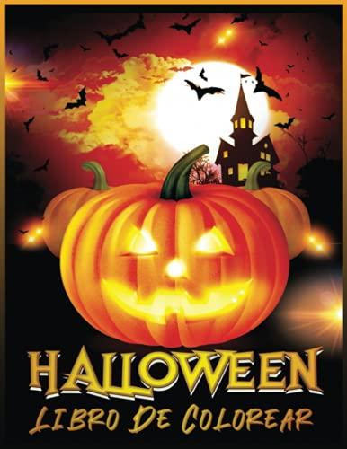 Halloween Libro De Colorear: Libro de Colorear para Niños de 4 a 12 Años