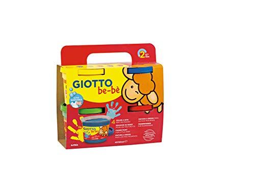 GIOTTO be-bè 4672 00 - Super Fingerfarbe, farbig sortiert