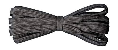 Fabmania Flache athletische Baumwollschnürsenkel - Ersatzschnürsenkel für Marken wie Adidas, Converse, Nike, Stan Smith, Vans und viele mehr - Längen 60 cm - 140 cm
