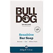 Bulldog Skincare Sensitive Bar Soap, 200 g