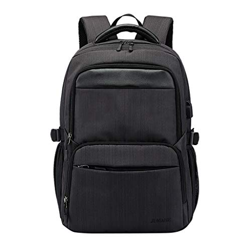 Kangma Business Laptop Backpack with USB Charging Port Padded Daypack Bookbag