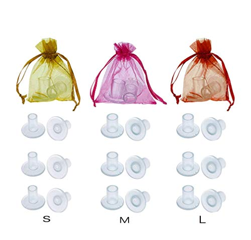 High Heel Protecors,12 Pairs Transparent Heel Stoppers, Heel Repair Caps Covers for Women-Perfect...