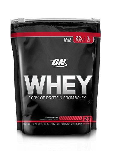 On Whey (797g) Refil - Sabor Morango, Optimum Nutrition