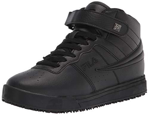 Fila womens Work Health Care Professional Shoe, Black/Black/Black, 7.5 US