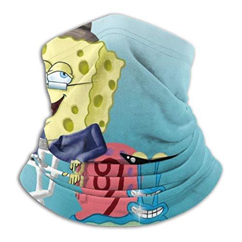 Scaldacollo Scaldacollo Fodera antivento CoolBob E Gary Spongebob Copricapo multifunzionale Fascia per capelli Fascia per capelli Copricapo