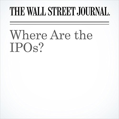 Where Are the IPOs? cover art