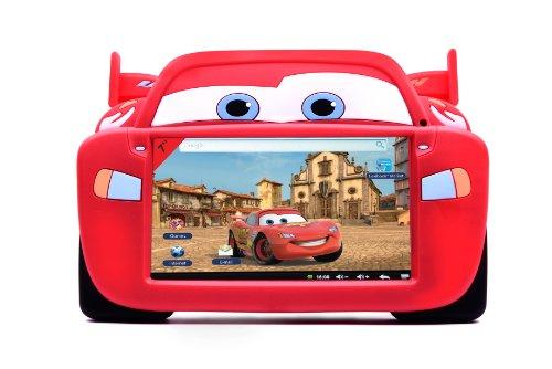 Lexibook MFA51DC - Silikon-Schutzhülle Cars für 7 Zoll Tablet