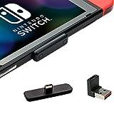 GULIkit Route Air Adaptateur Bluetooth pour Nintendo Switch/Switch Lite PS4 PC, USB C Transmetteur Audio sans Fil avec aptX Faible Latence pour Bluetooth Écouteurs AirPods Bose Sony - Noir