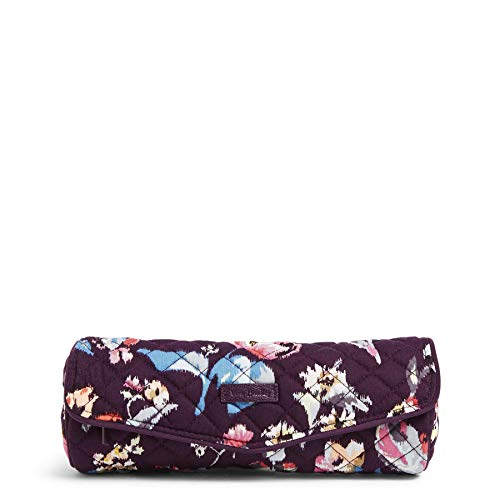 Vera Bradley Women#039s Signature Cotton On a Roll Cosmetic Case Indiana Rose One Size