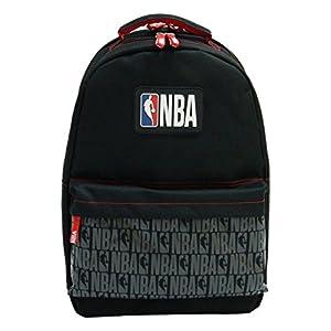 41PIHNLAOuL. SS300  - La Pluma Dorada 2A Mochila 2Compartimentos NBA Mixta niño, Color Negro