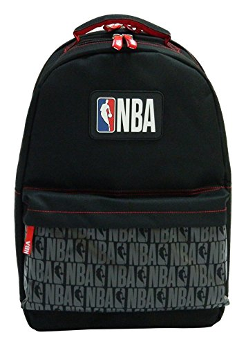 La Pluma Dorada 2A Mochila 2Compartimentos NBA Mixta niño, Color Negro
