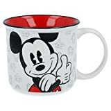 ALMACENESADAN 9960; Taza cerámica Disney Mickey Mouse; Taza Desayuno; Capacidad 400 ml;