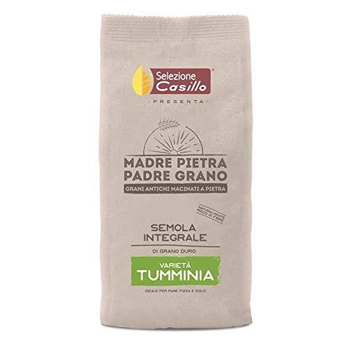 Semola integrale di grano duro siciliano 'Tumminia' 500g - Selezione Casillo