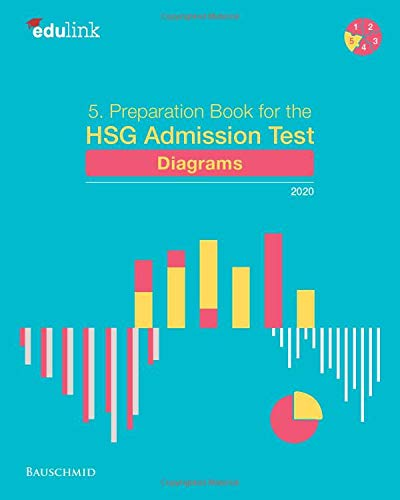 5. Preparation Book for the HSG Admission Test: Diagrams 2020 (Preparation for the St. Gallen Admission Test, Band 5)
