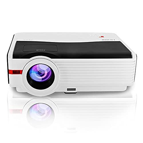 JLFFYJ Proyector Inicio WiFi LED 1080P Full HD Video Beamer Proyectores para el teléfono Inteligente