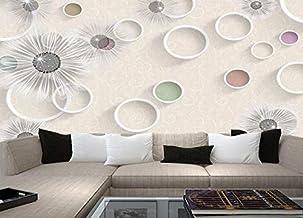 Salon, papier peint de fond de la chambre à coucher de la chambre à coucher, papier peint intissé 3D plein, grandes fresques, revêtement mural minimaliste moderne, 200 × 150cm