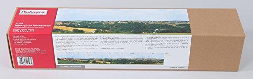 Auhagen 42508.0 - Hintergrund Wolkenstein, Gesamtlänge 330 x 47 cm, bunt