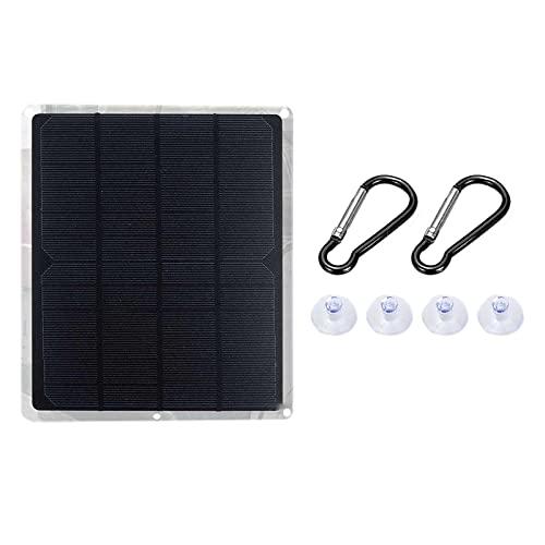 Pineapplen Panel Solar Monocristalino de 20W 12V, Tablero de Carga Solar PortáTil EcolóGico, Impermeable 210X180Mm