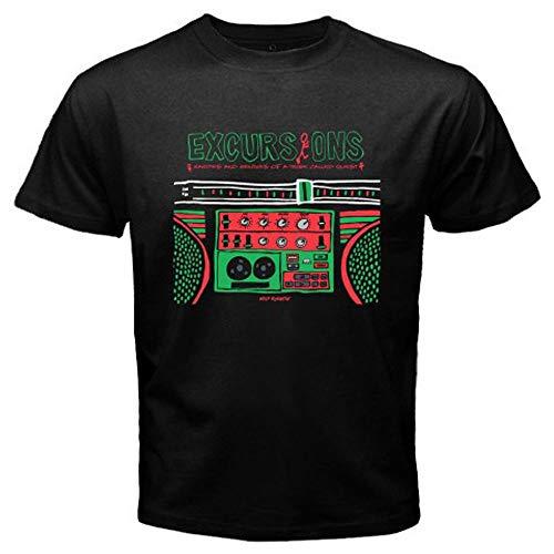 New A Tribe Called Quest Excursions Rap Hip Hop Men's Black T-Shirt Size S-3Xl