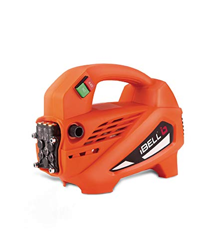 iBELL Microjet Induction Motor 1700 W 120bar 6.5L/Min Flow High Pressure Washer for Cars/Bikes & Home Cleaning Purpose (Black & Orange)