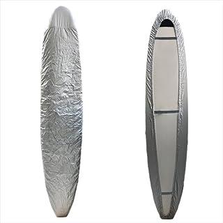 Funktion サーフボードカバー ロングボード用 シルバーノーズガード 強化版 FK-WRAP-LG-SLV-NG