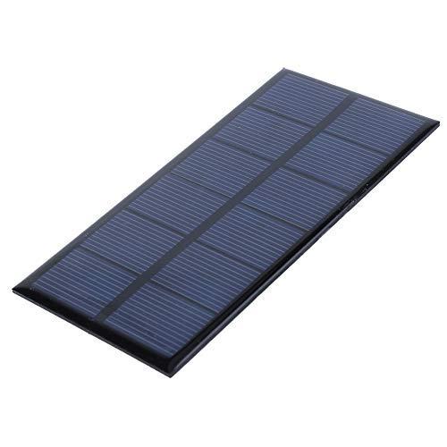 RiToEasysports 1W 3V Pannello Solare, Mini Pannello Solare Pannello Solare in silicio Cristallino Fai-da-Te per Caricabatterie Fai-da-Te