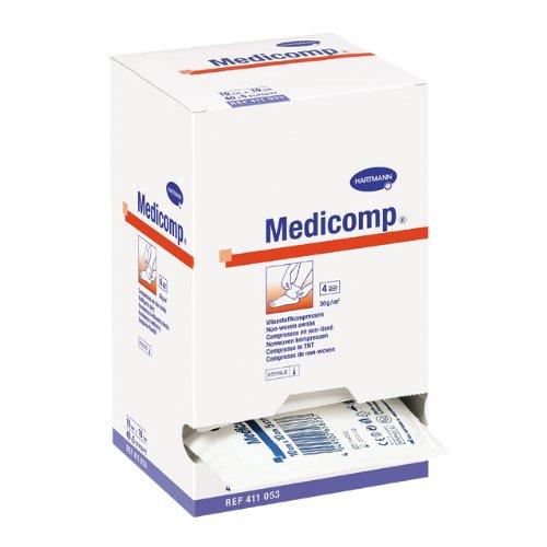Medicomp Vliesstoff-Kompressen 25 x 2 Stck. (10 cm x 20 cm)