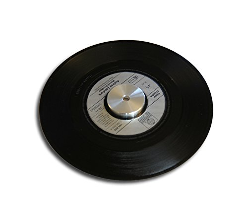 Single Schallplatten Puck Aluminium Protected