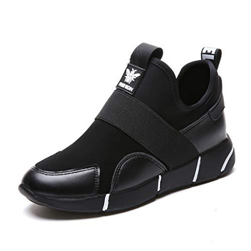 Damessneakers Met Sleehak Pu Platform Instappers Loafers Hoogte Toenemend Licht Jogging Fitnessschoenen Casual Ademende Platformsneakers