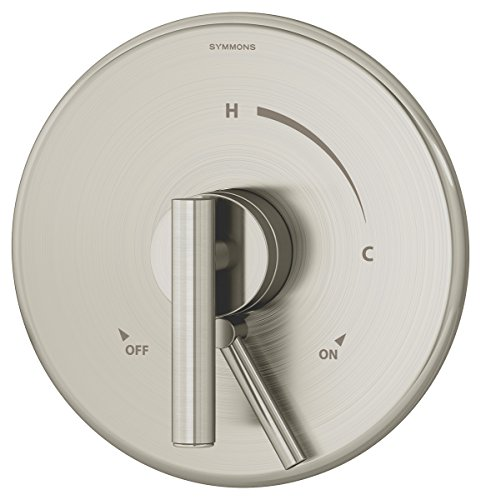Symmons S-3500-CYL-B-STN-TRM Dia Shower Valve Trim in Satin Nickel (Valve Not Included)