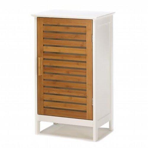 Furniture Creations Kyoto Bamboo Door Storage Cabinet Home B...