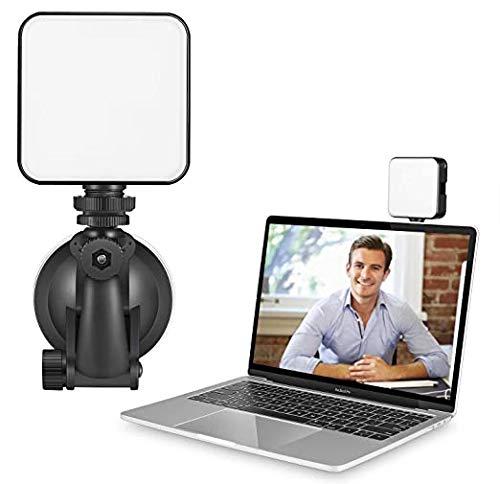 Video Conference Selfie Light Kit – Battery Power LED Webcam Lighting for Home Working Zoom Skype Teams Meet for Laptop…