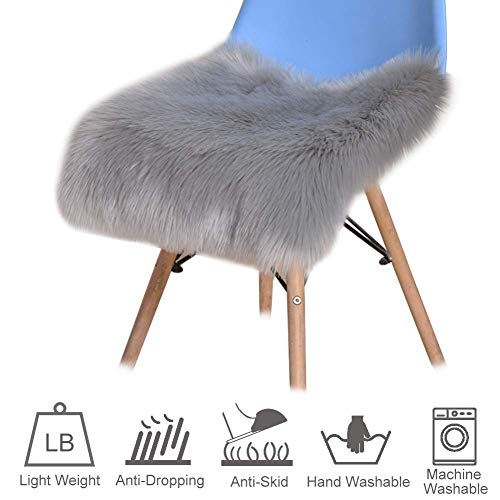 paletur88 Asiento Cojín Accesorios para el Hogar Macizo para Sofá Almohadilla Suave Alfombras Dormitorio Cuadrado Decoración Ecopiel Living Om (30 30cm1) - 2, 30 30cm